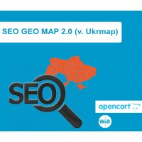 SEO GEO MAP 2.0 (v. Ukrmap for Ukraine)