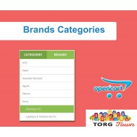 "Module ""Brand Categories"" for Opencart"