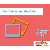 Module Our Clients and Portfolio  for Opencart